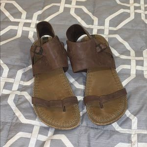 Merrell leather ankle strap sandals